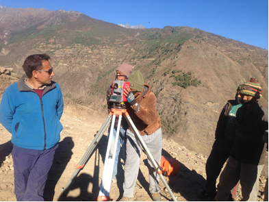 On the job training to Technical Staff of Humla District for the construction of Simkot-Kharpunath Road