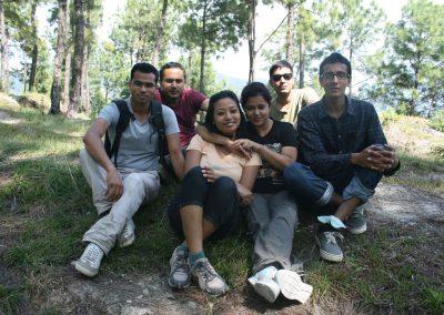 Tarebhir Hiking of SWN team, 2015